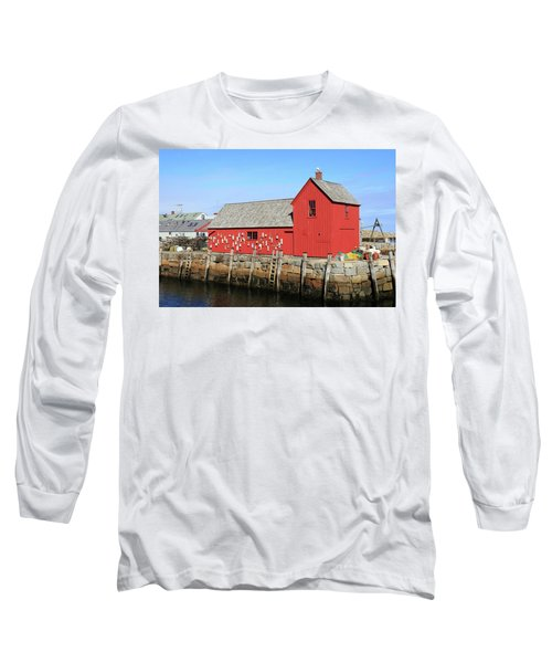 Rockport Motif Number 1 Long Sleeve T-Shirt