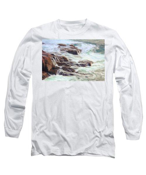 Awash  Long Sleeve T-Shirt by Roupen  Baker