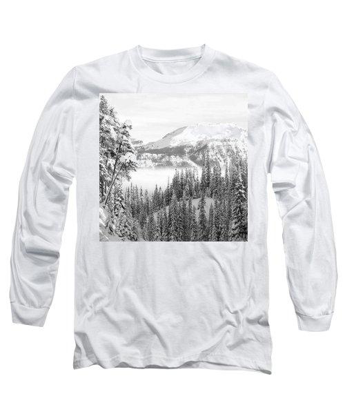 Rocky Mountain Vista Long Sleeve T-Shirt by Cheryl Miller
