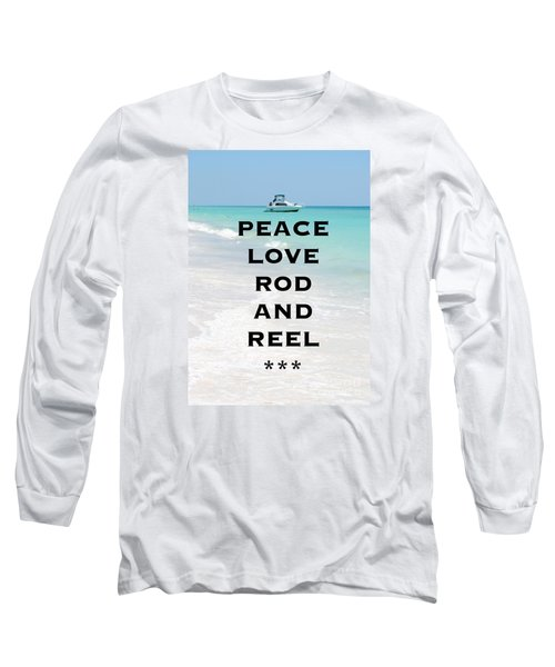 Rod And Reel Restaurant Anna Maria Island  Long Sleeve T-Shirt