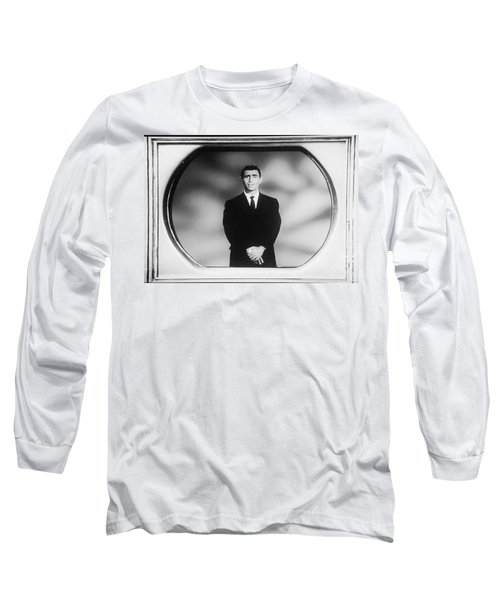 Rod Serling On T V Long Sleeve T-Shirt