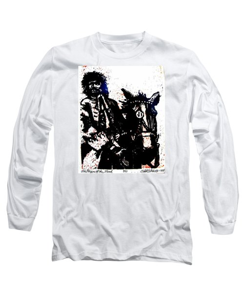 Long Sleeve T-Shirt featuring the relief Rogue Of The Road by Seth Weaver