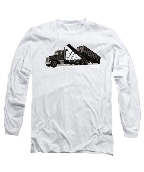 Roll Off Truck  Long Sleeve T-Shirt