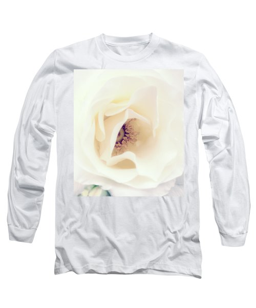 Romance In A Rose Long Sleeve T-Shirt by Spikey Mouse Photography