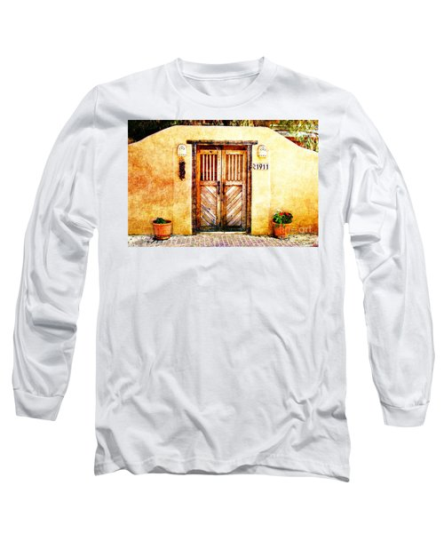 Romance Of New Mexico Long Sleeve T-Shirt by Barbara Chichester