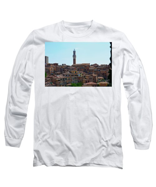Roofs Of Siena Long Sleeve T-Shirt