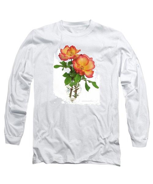 Rose 'playboy' Long Sleeve T-Shirt
