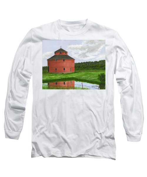Round Barn Long Sleeve T-Shirt by Dustin Miller
