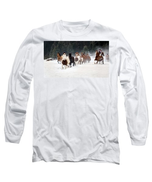 Roundup Long Sleeve T-Shirt by Jack Bell