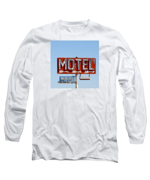 Route 66 Motel Sign Long Sleeve T-Shirt
