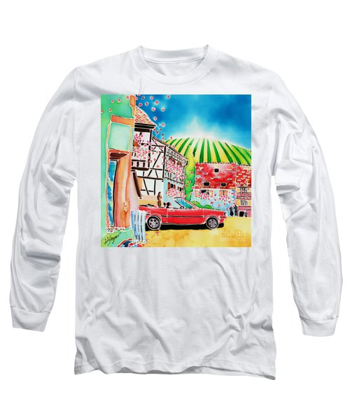 Route Des Vins Long Sleeve T-Shirt
