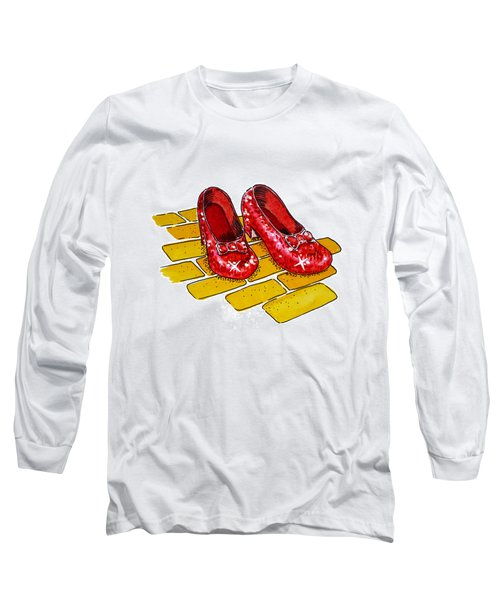 Ruby Slippers The Wizard Of Oz  Long Sleeve T-Shirt