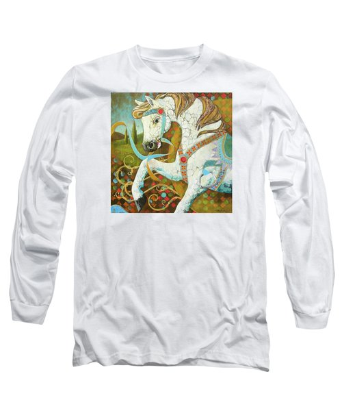 Runaway Rocker Long Sleeve T-Shirt by Robin Birrell