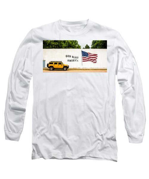Rural America Wall Mural Long Sleeve T-Shirt by Bill Kesler