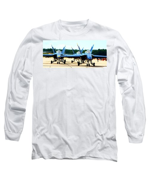 Rush Hour For Angels Long Sleeve T-Shirt by Kevin Fortier