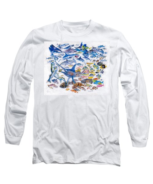 Russ Smiley Gamefish Collage Long Sleeve T-Shirt