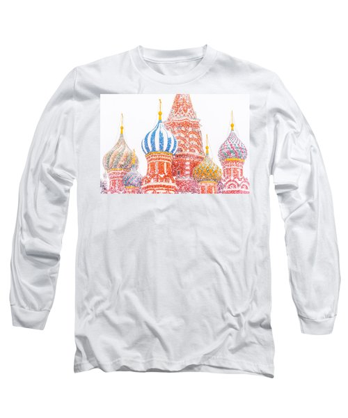 Russian Winter Long Sleeve T-Shirt by Alexander Senin