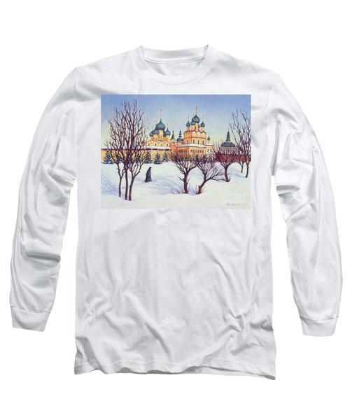 Russian Winter Long Sleeve T-Shirt by Tilly Willis