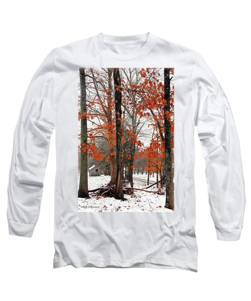 Rustic Winter Long Sleeve T-Shirt
