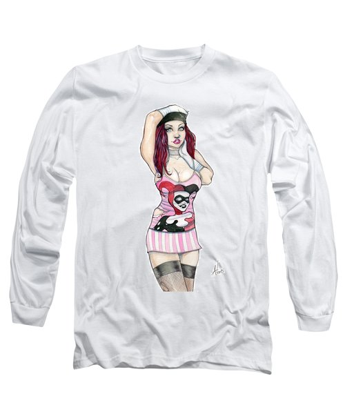 Ryanne Overman Long Sleeve T-Shirt by Jimmy Adams