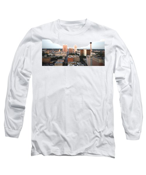 Sa Skyline 003 Long Sleeve T-Shirt by Shawn Marlow