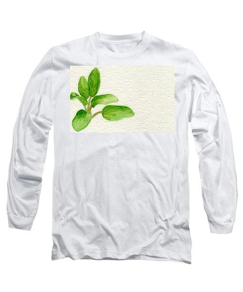 Sage Long Sleeve T-Shirt by Annemeet Hasidi- van der Leij
