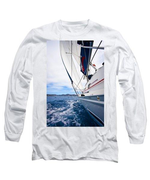 Sailing Bvi Long Sleeve T-Shirt