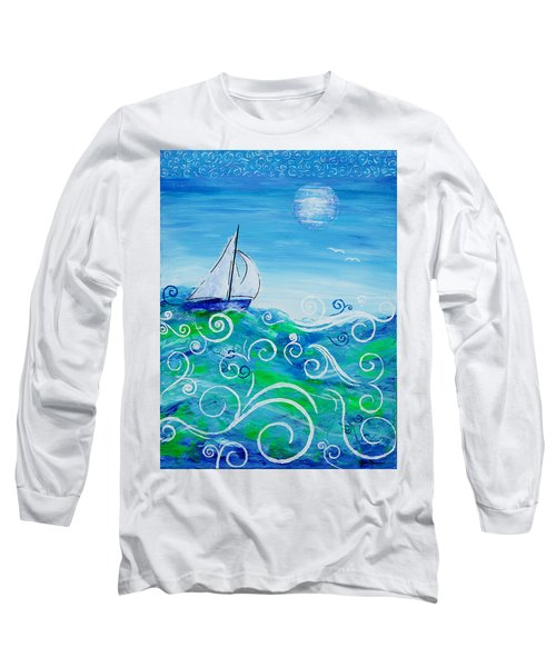 Sailing By Jan Marvin Long Sleeve T-Shirt