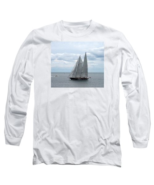 Sailing Day Long Sleeve T-Shirt by Catherine Gagne