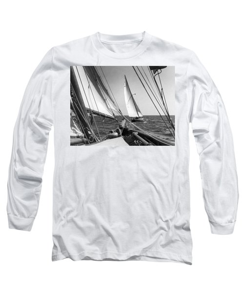 Sailing In Los Angeles Regatta Long Sleeve T-Shirt