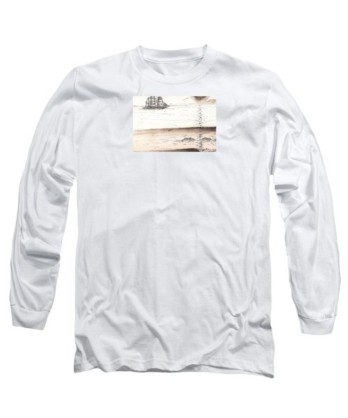 Sailing Into The Past Long Sleeve T-Shirt