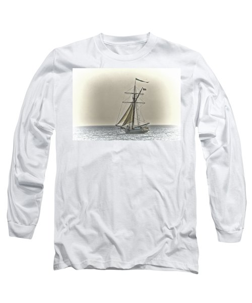 Sailing Off Long Sleeve T-Shirt