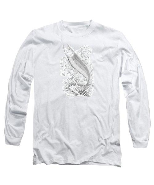 Salmon Long Sleeve T-Shirt