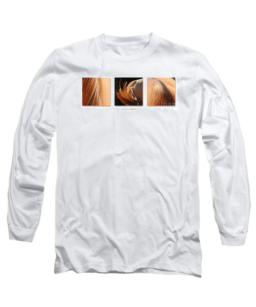 Salon D'equus Dark Long Sleeve T-Shirt by Michelle Twohig