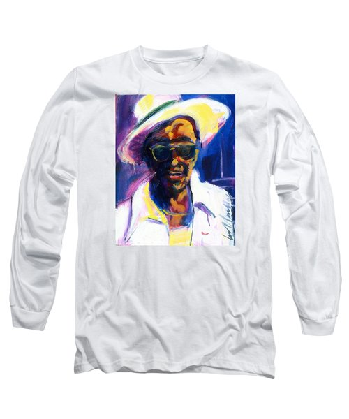 Sam Hopkins Long Sleeve T-Shirt by Les Leffingwell