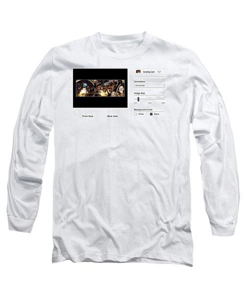 Sample Greeting Card Long Sleeve T-Shirt