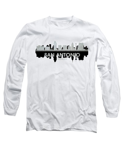 San Antonio Tx 4 Long Sleeve T-Shirt
