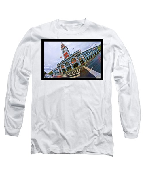 San Francisco Ferry Building Giants Decorations. Long Sleeve T-Shirt