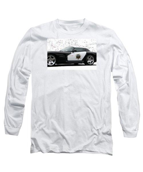 San Luis Obispo County Sheriff Viper Patrol Car Long Sleeve T-Shirt