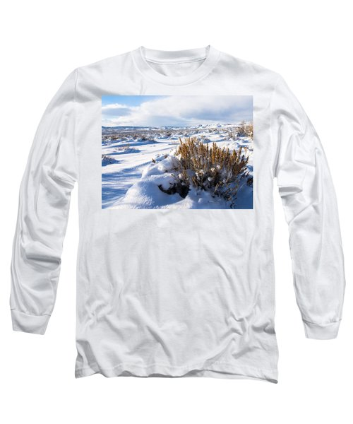 Sand Wash Basin In The Winter Long Sleeve T-Shirt