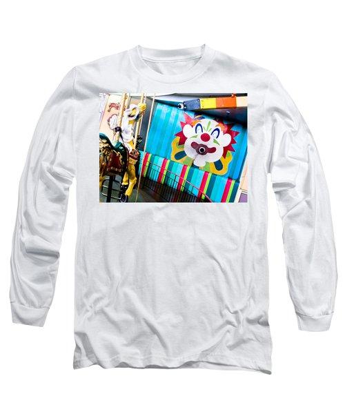 Santa Cruz Boardwalk Carousel Long Sleeve T-Shirt
