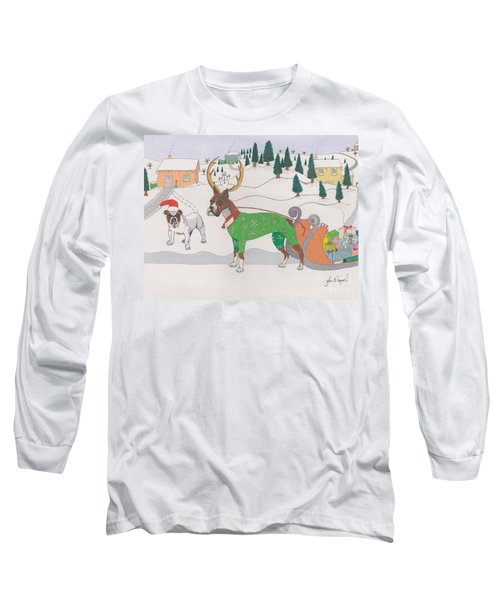 Santas Helpers Long Sleeve T-Shirt