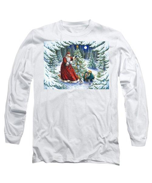 Santa's Little Helpers Long Sleeve T-Shirt