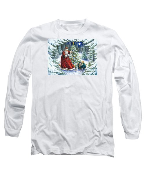 Santa's Little Helpers Long Sleeve T-Shirt
