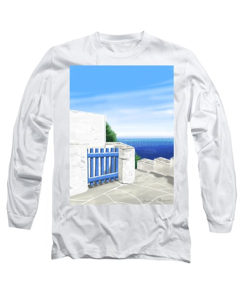 Santorini Long Sleeve T-Shirt