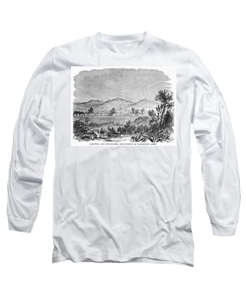 Saratoga: Encampment, 1777 Long Sleeve T-Shirt