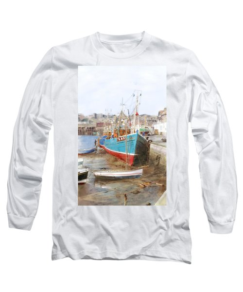 Scarborough Harbour Long Sleeve T-Shirt