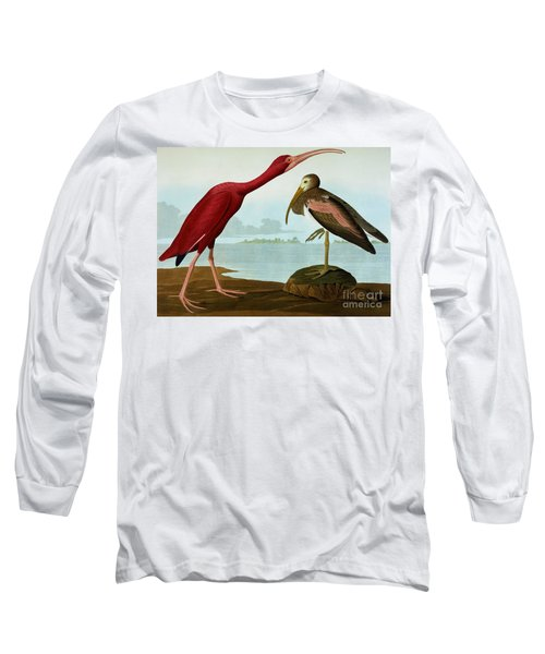 Scarlet Ibis Long Sleeve T-Shirt