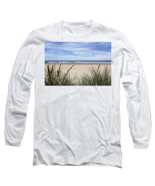 Scenic Oceanview Long Sleeve T-Shirt by Athena Mckinzie