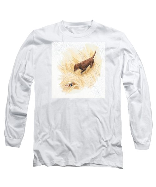 Scenting Pheasant Long Sleeve T-Shirt
